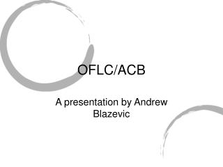 OFLC/ACB