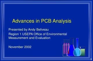 Advances in PCB Analysis