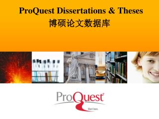 ProQuest Dissertations & Theses  博硕论文 数据库