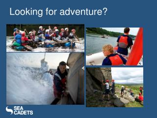 Looking for adventure?