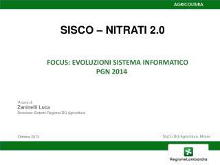 SISCO – NITRATI 2.0