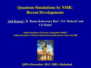 Anil Kumar 1 , K. Rama Koteswara Rao 1 , T.S. Mahesh 2  and V.S.Manu 1