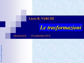 Montevarchi   -   25 settembre 2012