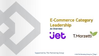E-Commerce: Formulation of Strategy