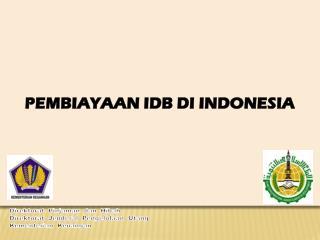 Direktorat Pinjaman dan Hibah Direktorat Jenderal Pengelolaan Utang Kementerian Keuangan