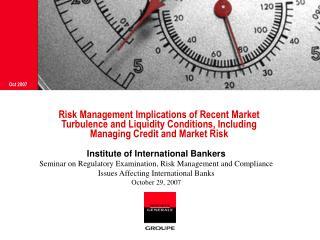 Institute of International Bankers