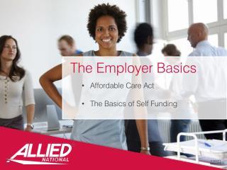 The Employer Basics