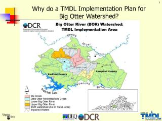 Why do a TMDL Implementation Plan for  Big Otter Watershed?