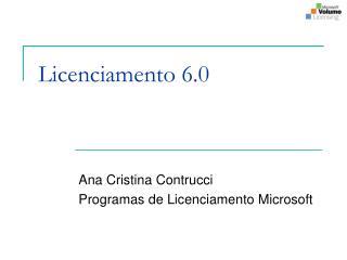 Licenciamento 6.0