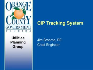 CIP Tracking System