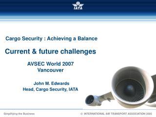 Takeaways from AVSEC 2006