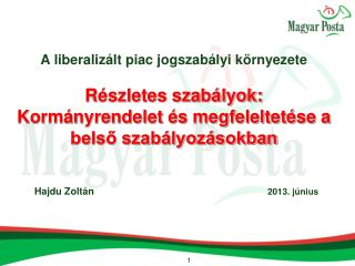 Hajdu Zoltán                                                                 2013. június