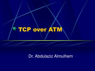 TCP over ATM