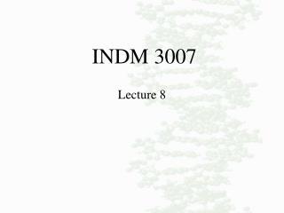 INDM 3007