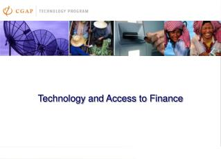 Technology and Access to Finance