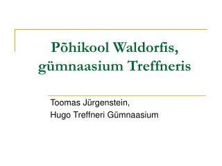 Põhikool Waldorfis, gümnaasium Treffneris