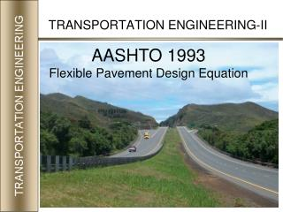 TRANSPORTATION ENGINEERING-II