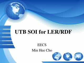 UTB SOI for LER/RDF