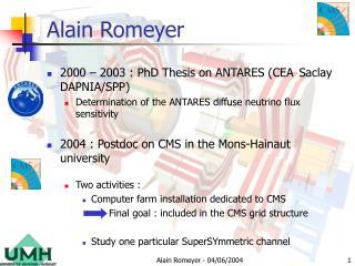 Alain Romeyer