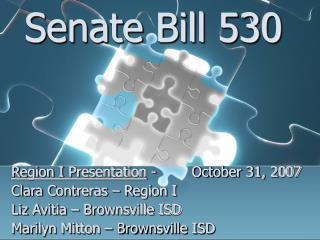 Senate Bill 530