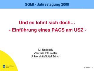 SGMI - Jahrestagung 2008
