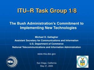 ITU–R Task Group 1/8