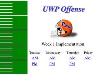 UWP Offense