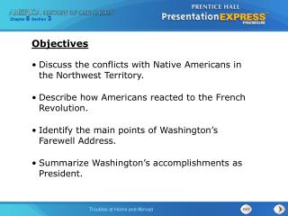 Discuss the conflicts with Native Americans in the Northwest Territory.