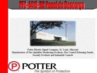 PFC-4410-RC Panel de Descarga