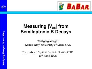 Measuring |V ub | from  Semileptonic B Decays