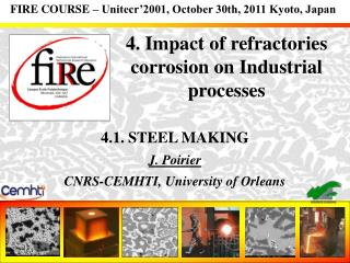 4. Impact of refractories corrosion on Industrial processes