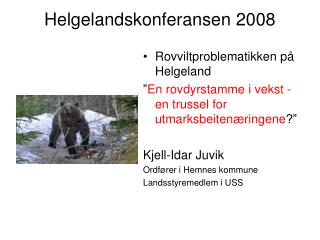 Helgelandskonferansen 2008