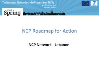NCP Roadmap for Action
