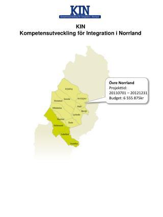 KIN Kompetensutveckling för Integration i Norrland