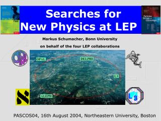 Searches for  New Physics at LEP