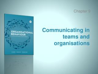 Communicating in teams and organisations