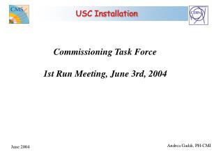 USC Installation