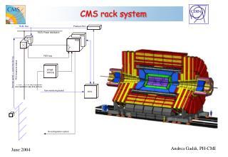 CMS rack system