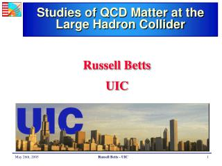 Studies of QCD Matter at the Large Hadron Collider
