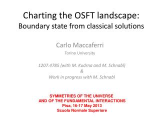 Charting the OSFT landscape:  Boundary state from classical solutions