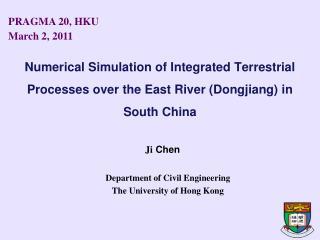 Department of Civil Engineering   The University of Hong Kong