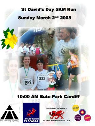 St David's Day 5KM Run