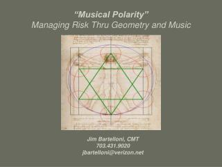 """Musical Polarity"" Managing Risk Thru Geometry and Music"