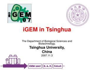 iGEM in Tsinghua