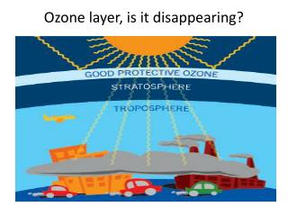 Ozone layer, is it disappearing?