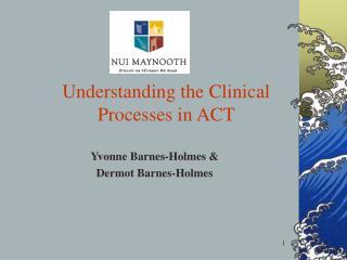 Yvonne  Barnes-Holmes  & Dermot  Barnes-Holmes