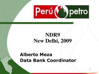 Alberto Meza Data Bank Coordinator