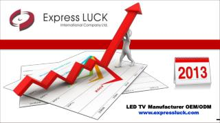 LED TV Manufacturer OEM/ODM expressluck