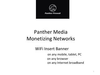 Panther Media Monetizing Networks