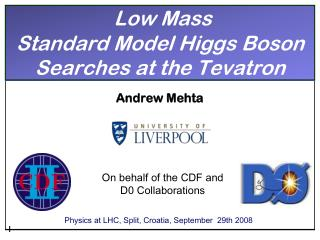 Low Mass  Standard Model Higgs Boson Searches at the  Tevatron